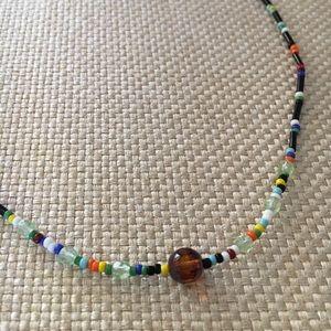 "Jewelry - 14"" Boho Beaded Choker"